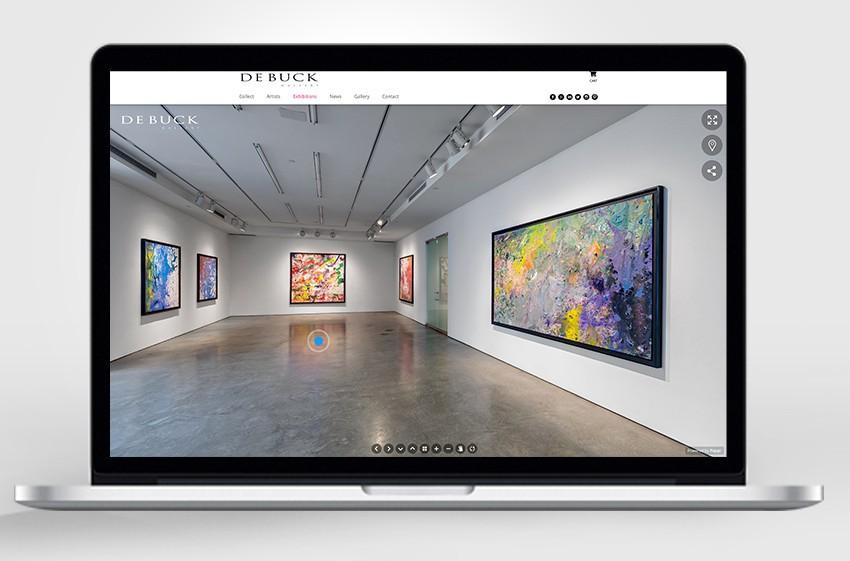 De Buck Launches Online Art Buys