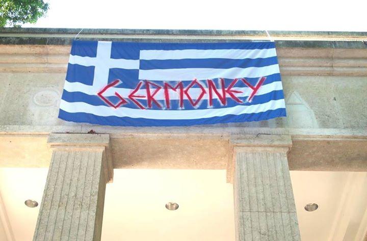 German Artists Protest Greek Austerity