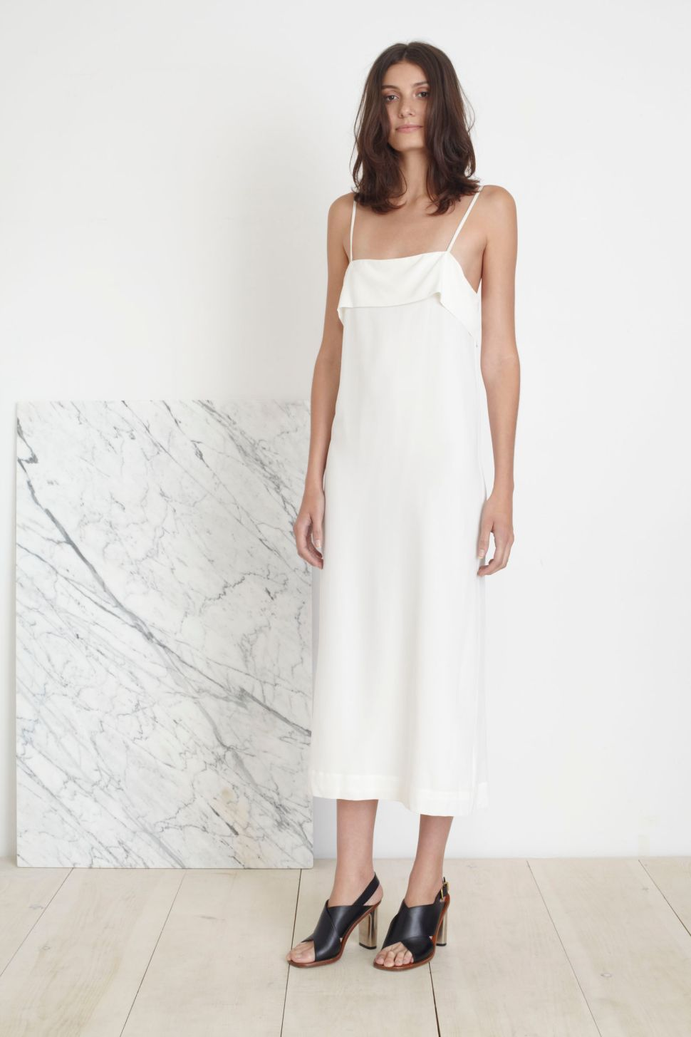 Keep Your Cool This Weekend in Apiece Apart's Breezy Slip Dress