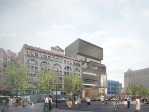 A rendering of David Adjaye's design for the new Studio Museum in Harlem. (Photo: Adjaye Associates, Designer, in collaboration with Cooper, Robertson & Partners, Executive Architect)