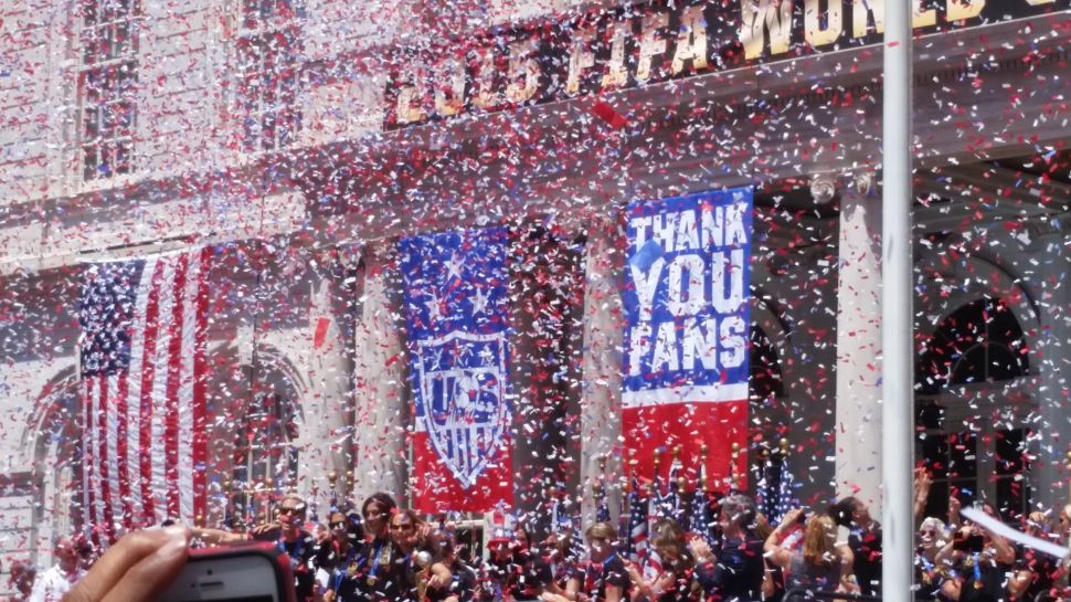 Mayor Says U.S. Women's Soccer Players Showed the 'Power of Women'