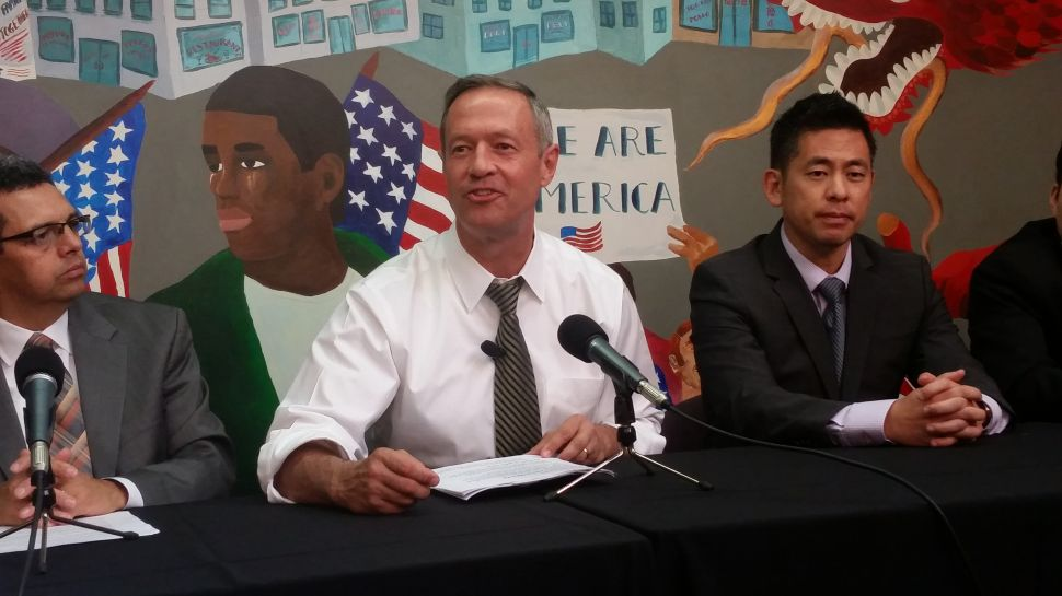 O'Malley Has No Idea What Hillary's Immigration Policy Is
