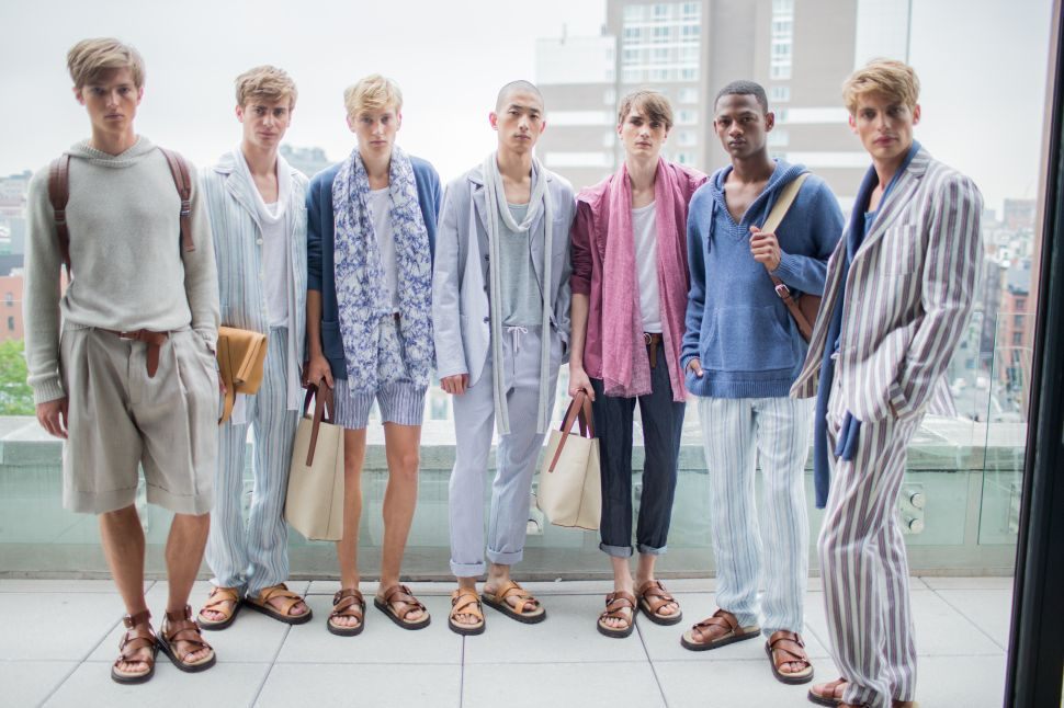 Michael Kors Personally Narrated His Spring/Summer 2016 Men's Collection