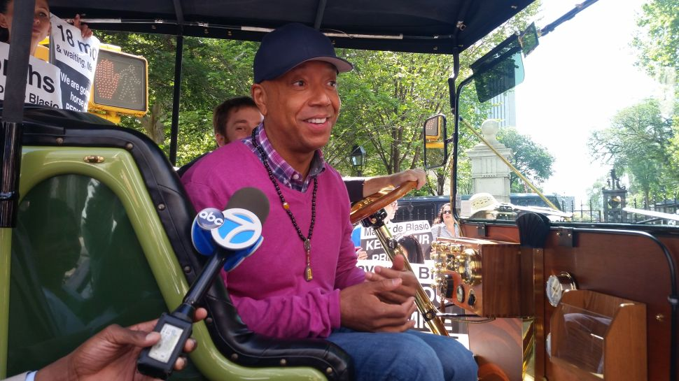 Russell Simmons Compares Animal Abuse to the Holocaust and Slavery