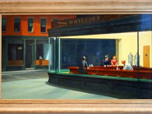 Nighthawks by Edward Hopper (Photo: Bert Kaufmann/Flickr)