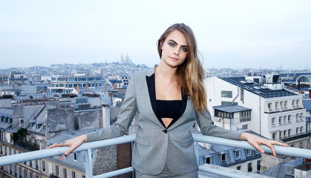 Cara Delevingne is set to star in John Green's upcoming film. (Photo by Bertrand Rindoff Petroff/Getty Images)