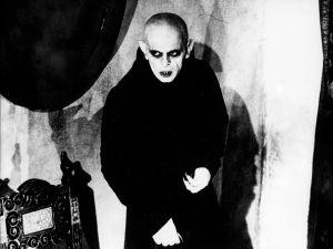 Dracula in Nosferatu, directed by F.W. Murnau.