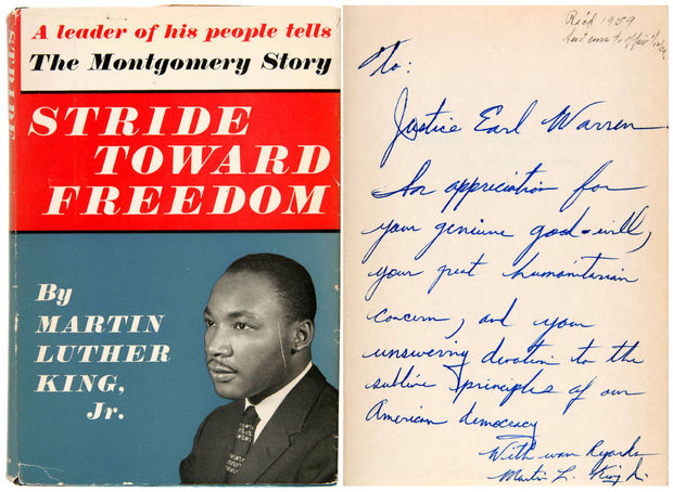 First Edition MLK Book Belonging to Earl Warren Leads $1.2M Pop Collectibles Sale