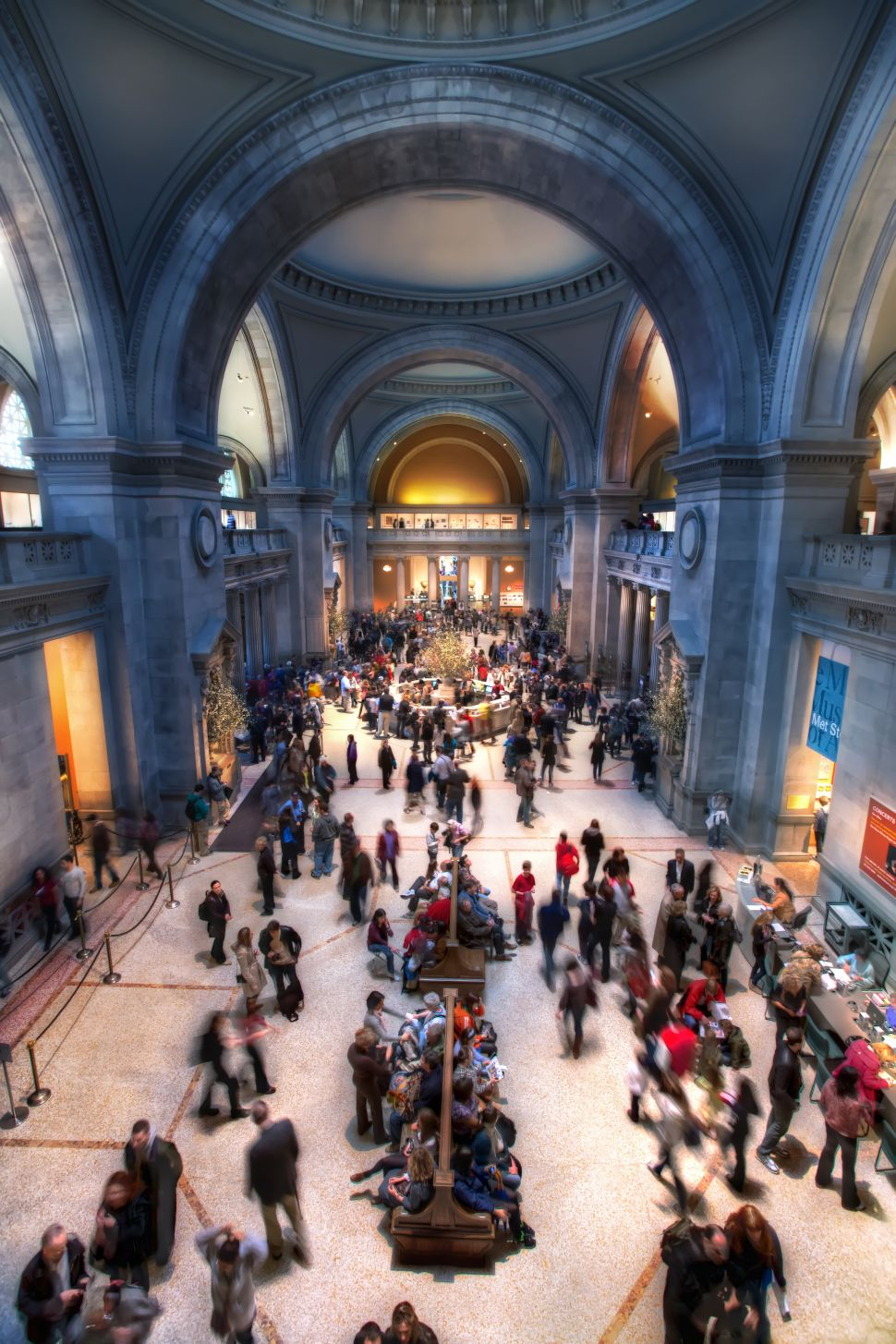 Which NY Art Museum is the Noisiest?