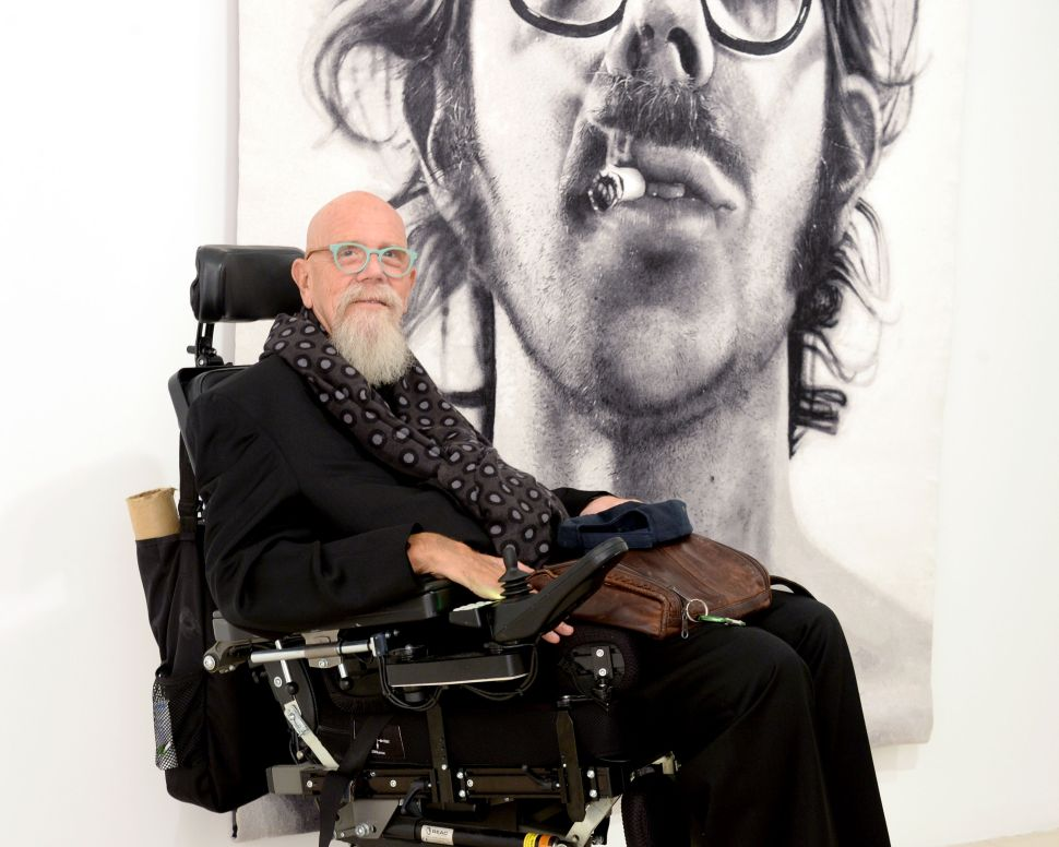 Check Out Chuck Close's Photos at the Parrish Art Museum