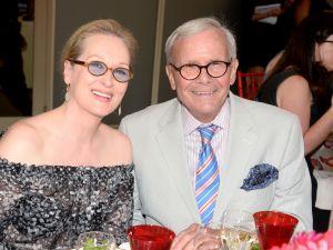 Meryl Streep, Tom Brokaw (Photo: Clint Spalding for Patrick McMullan)