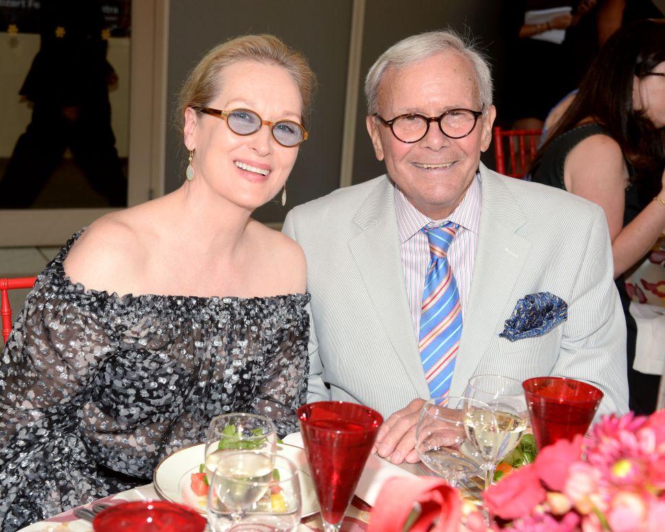 Tom Brokaw Thinks Meryl Streep Is 'a Hell of a Lot Cuter' Than Mozart