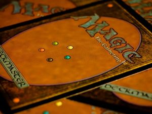 Magic: The Gathering cards. (Photo: Bernard Walker)