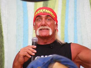 A sex tape in which Hulk Hogan makes racist comments was leaked this morning, so he's probably not smiling now. (Photo: Flickr Creative Commons)