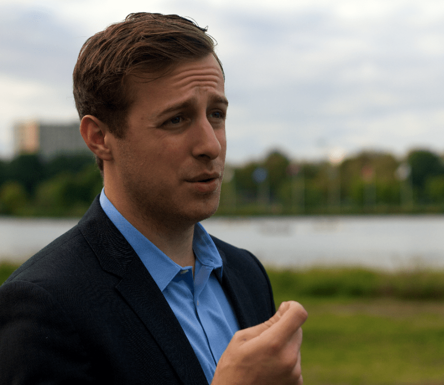 Congressional Hopeful Alex Law Courts Millennial Vote