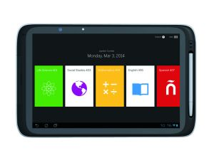 Amplify's tablet. (Photo: Amplify)
