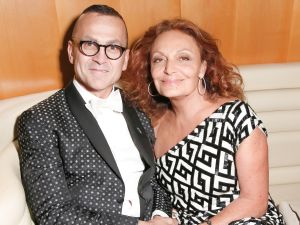 Diane von Furstenberg, Steven Kolb (Photo: Billy Farrell Agency)