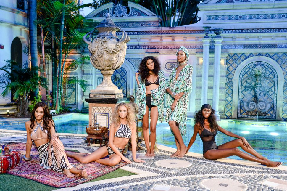Mara Hoffman Brings the Spirit of YSL and Marrakesh to Versace's Miami Mansion