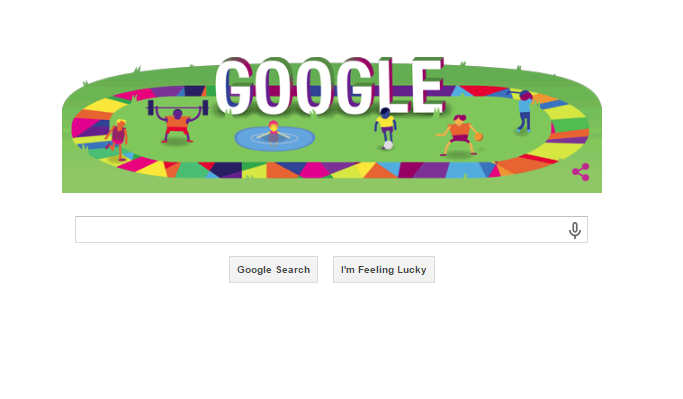 Today's Google Doodle Celebrates the Special Olympics World Games