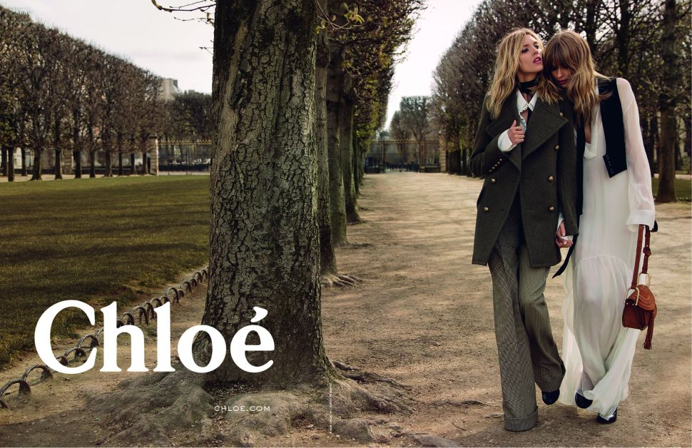 Chloé's Latest Ad Campaign Has a Strong Literary Influence