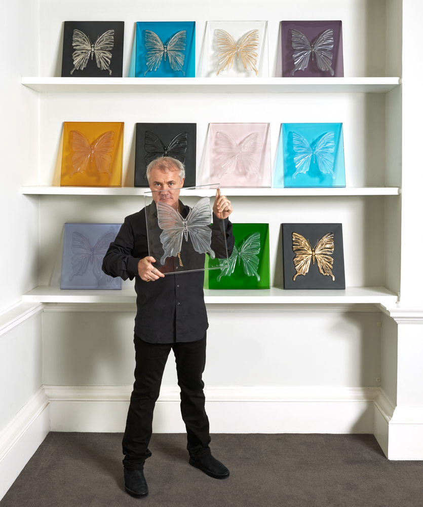 Damien Hirst Lends His Quirky Touch to This 127-Year-Old Glass Company