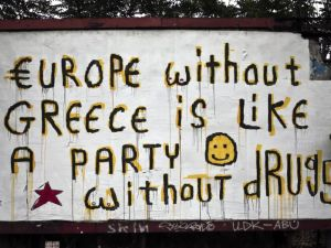 Europe without Greece is like a party without drugs, by Cacao Rocks