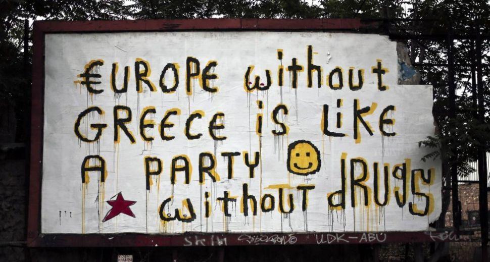 The Greek Debt Crisis Through Graffiti