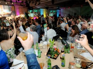 Everyone from bartenders, mixologists and bar owners lifted a glass (or two) at the Spirited Awards, honoring the leaders of the cocktail industry. (Photo: Jennifer Mitchell Photography)