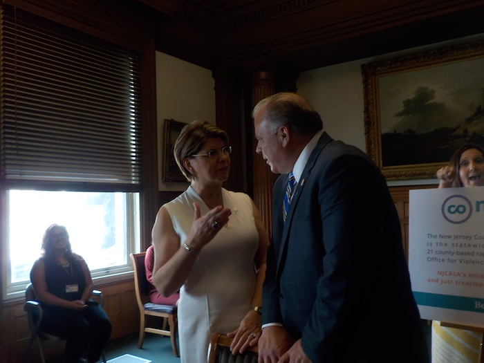 Sweeney to Christie: Sign the Sexual Assault Bill