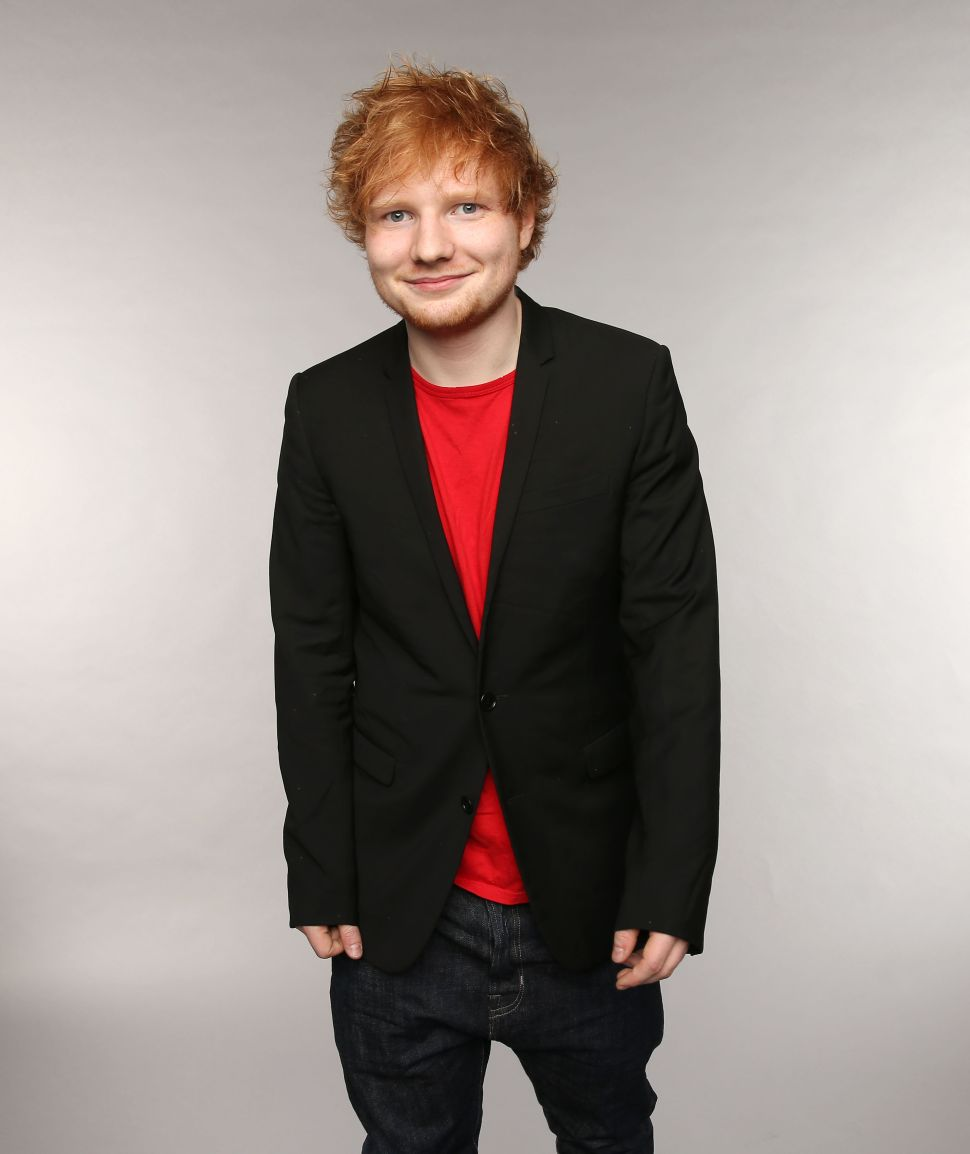 Noted Tough Guy Ed Sheeran to Recur in Kurt Sutter's 'The Bastard Executioner'