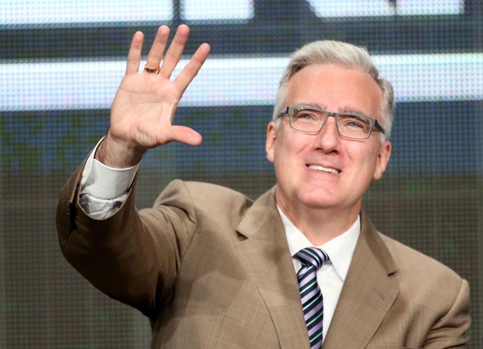 Keith Olbermann Waves Goodbye—Again