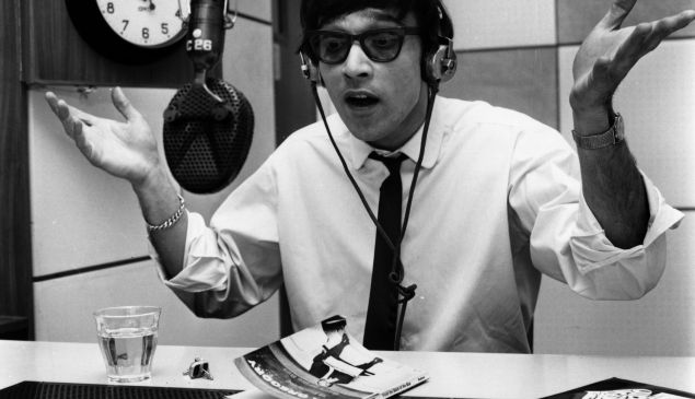 Will radio ever die? Disc jockey Pete Myers in action in 1967 (Photo by Evening Standard/Getty Images).