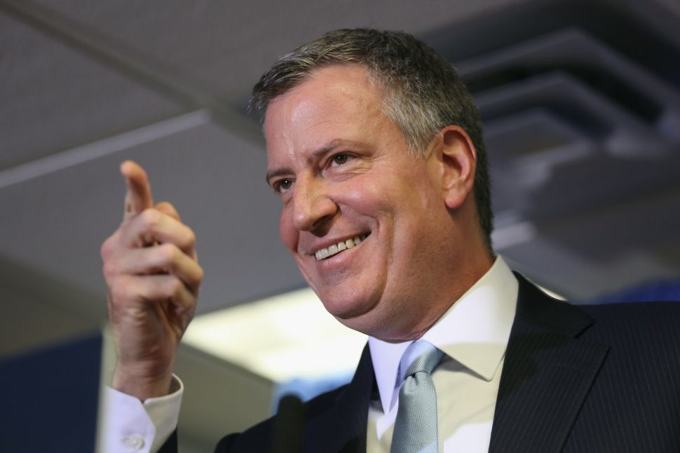 Bill de Blasio Can't Name a Single Mistake He's Made in Office