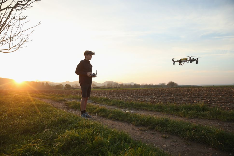 Drones Likely to Drive American Farmhands to Unemployment Sooner Than We Think