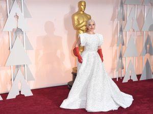 Lady Gaga in Azzedine Alaïa (Photo: Getty Images)