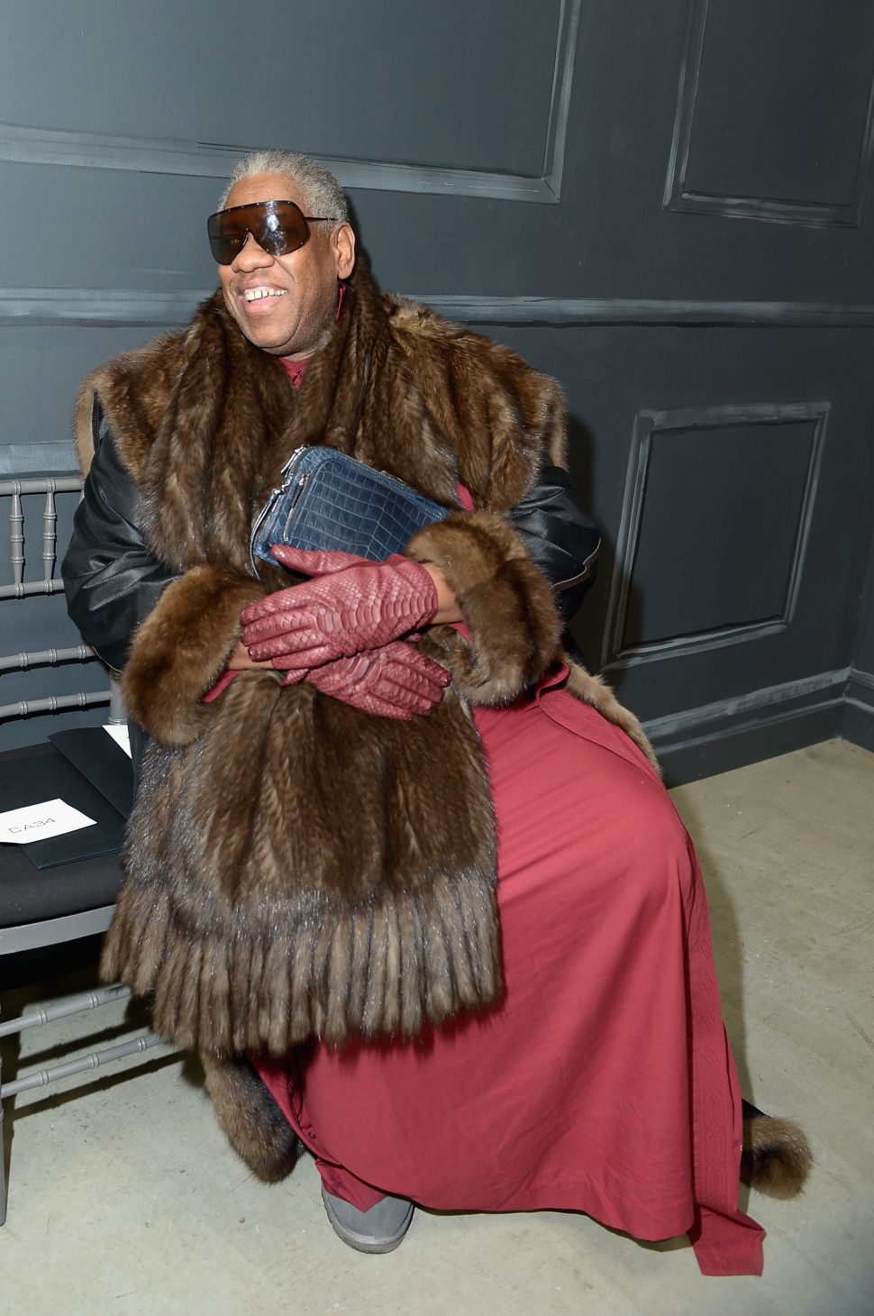 André Leon Talley Says Cartier Is 'Totally Accessible'
