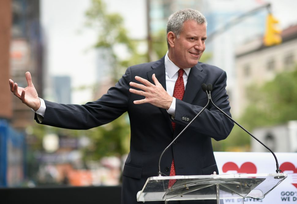 De Blasio Says He's Glad He Didn't Bite His Tongue in Feud With Cuomo