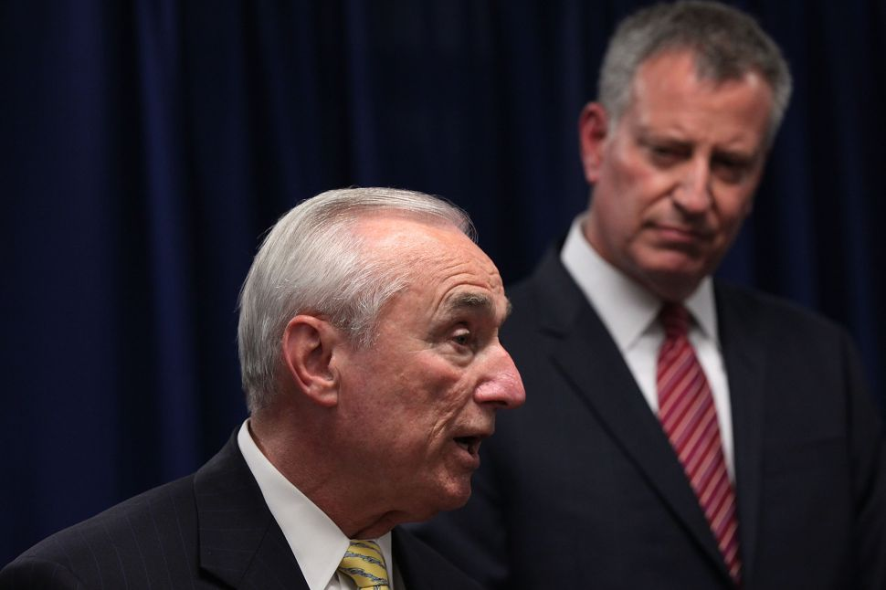 Bill Bratton Battles With Reporters at Policing Press Conference