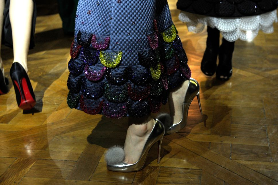 Outstanding Shoes Are Dominating the Couture Week Runways