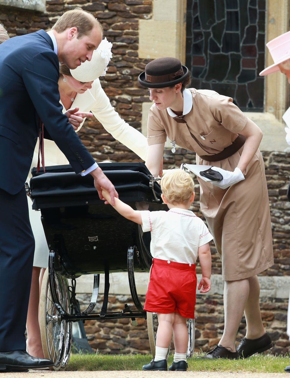 Who Was the Mary Poppins Nanny at Princess Charlotte's Christening?