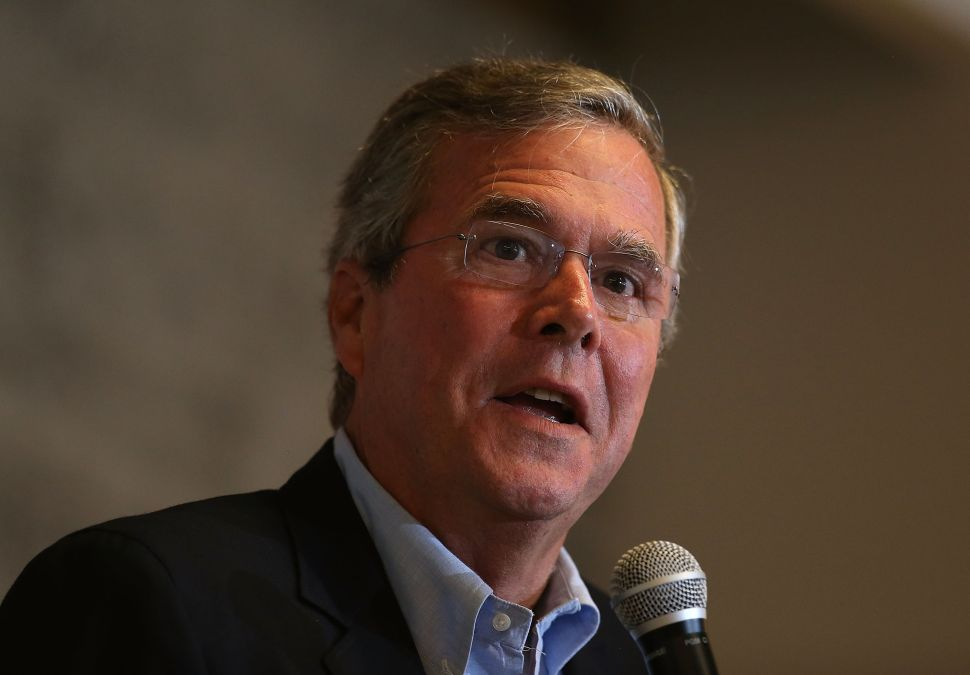 With Jeb Bush Flailing, Will Republicans Finally End Habit of Nominating Next in Line?