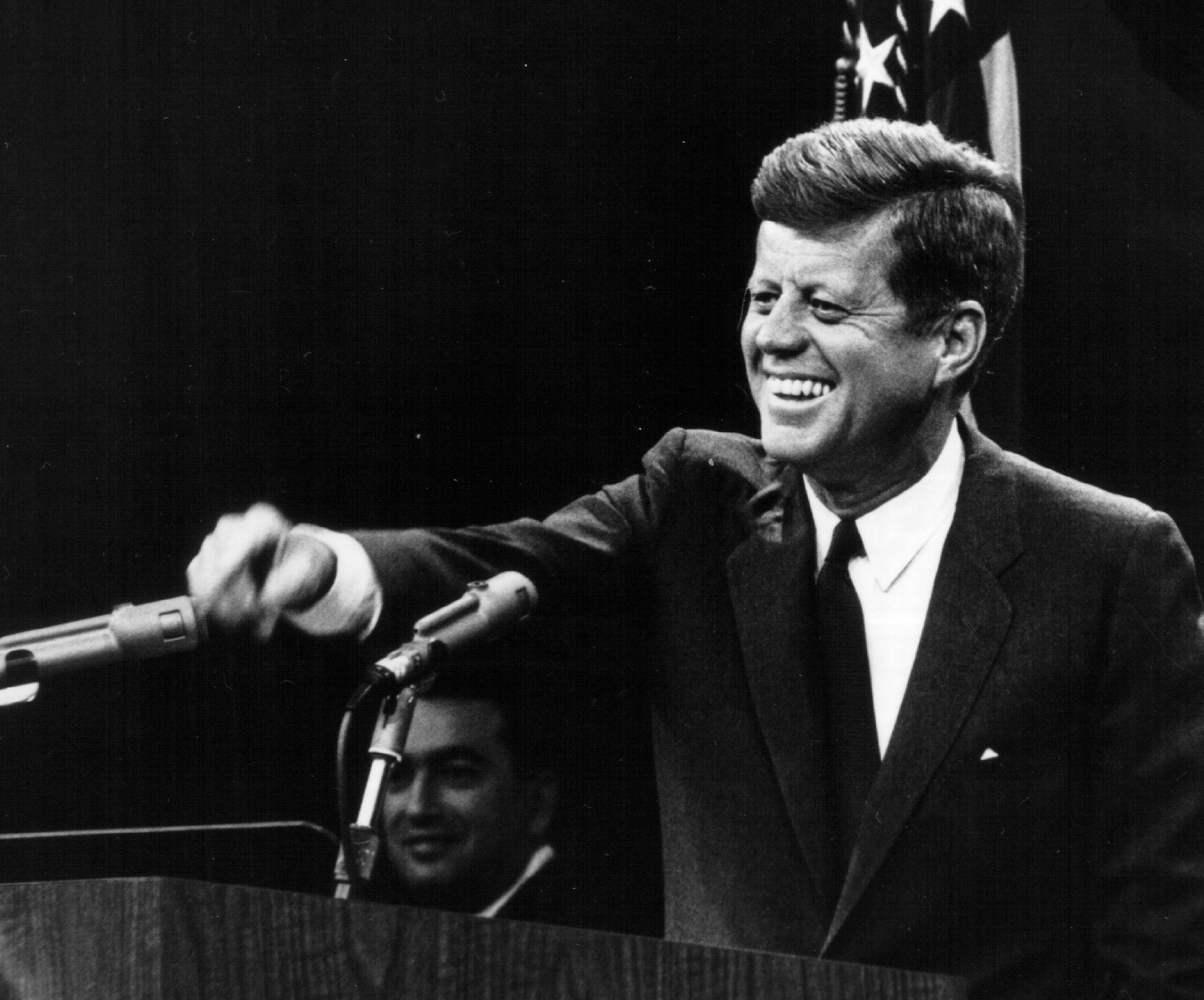 Image result for john f kennedy laughing