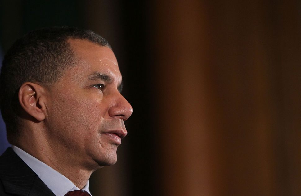 David Paterson Will Step Down as Chairman of the State Democratic Party