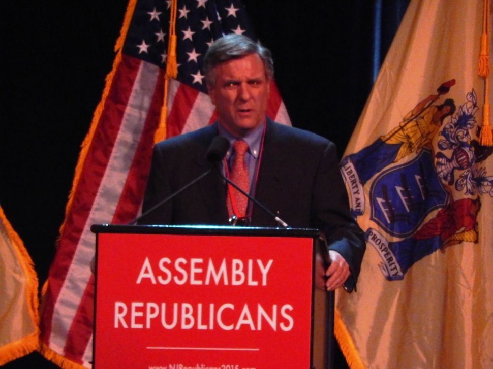 A Day Ahead of Bush, Gilmore Rushes to Christie's Aid with Seaside Fundraiser