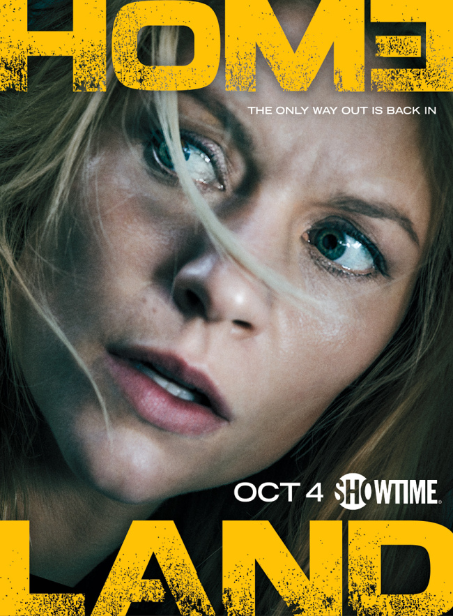 Carrie Mathison's Crazy Face Stars in the 'Homeland' Season 5 Poster and Trailer