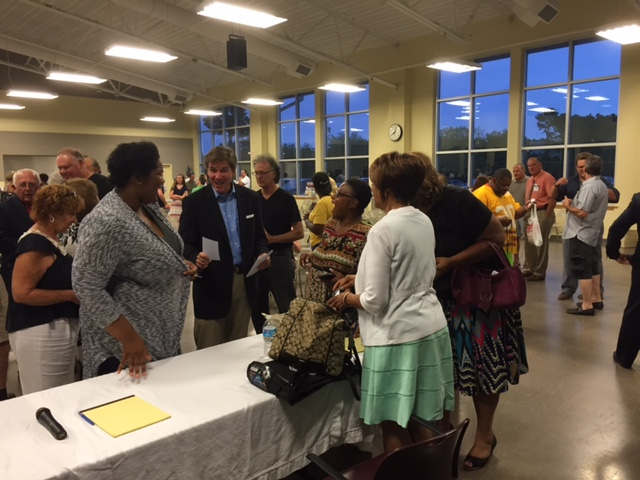 LD2 Battle: Hopefulness and Anxiety Over Future of AC at Chris Brown Town Hall
