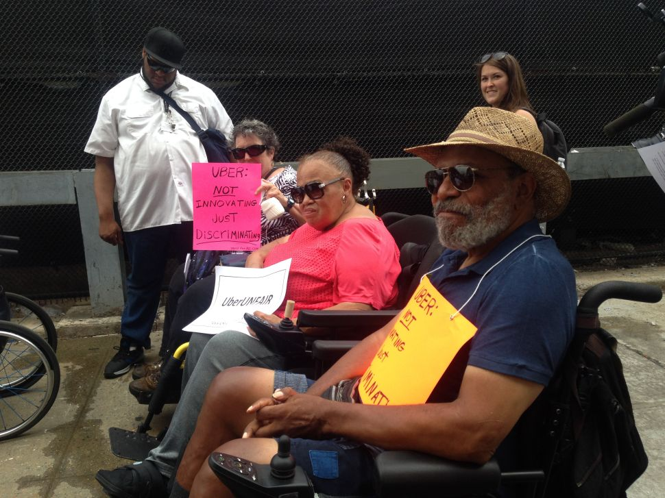 Disabled Advocates Rip Uber Over Lack of Accessibility