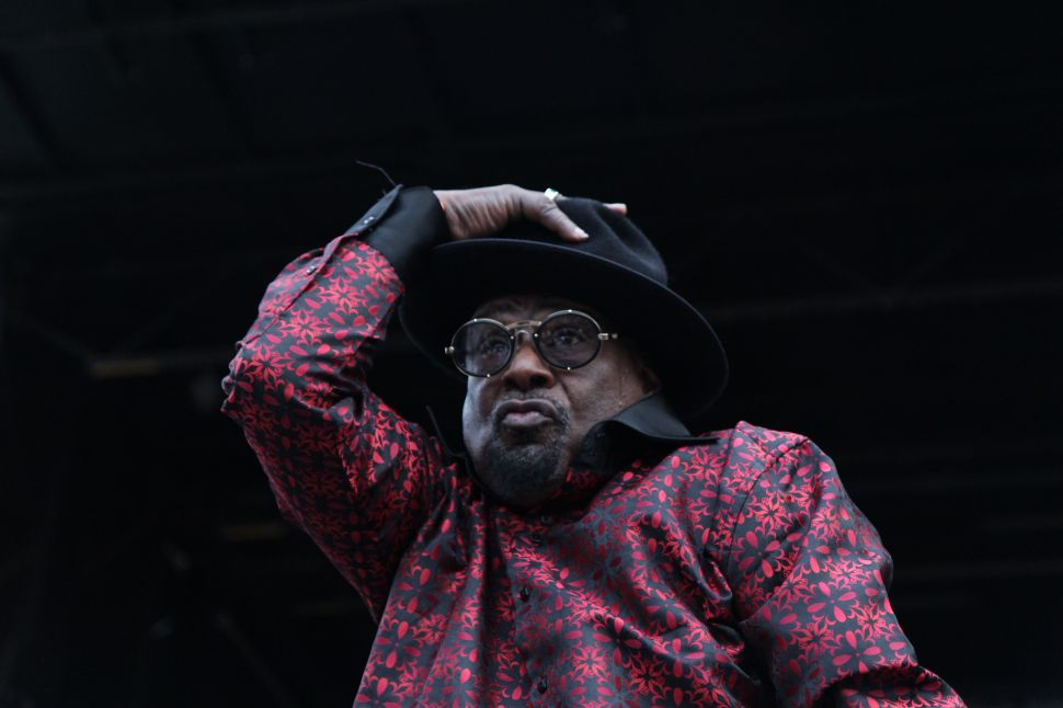 George Clinton Sets the Funky Record Straight on His 'Fictitious Bankruptcy'