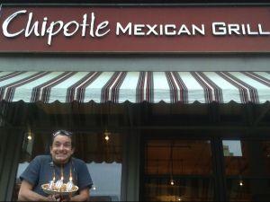 """We'll call him: """"The Chipotle Guy.""""(Photo: Mark Rantal)"""
