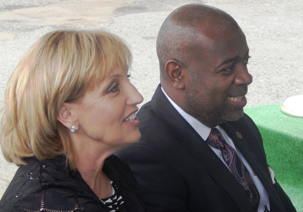 Guadagno attempts to plant political seeds in the Ironbound